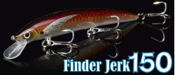 Finder Jerk 150 - 100% hand painted in Italy