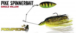 Pike Spinnerbait Single Willow
