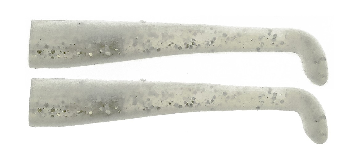 15 & 25g #07 White Shad - Spare Parts